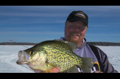 Ice Fishing Tactics: Give Panfish a 1-2 Punch
